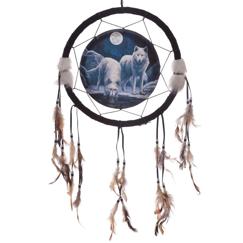 Warriors of Winter 33cm Dreamcatcher by Lisa Parker