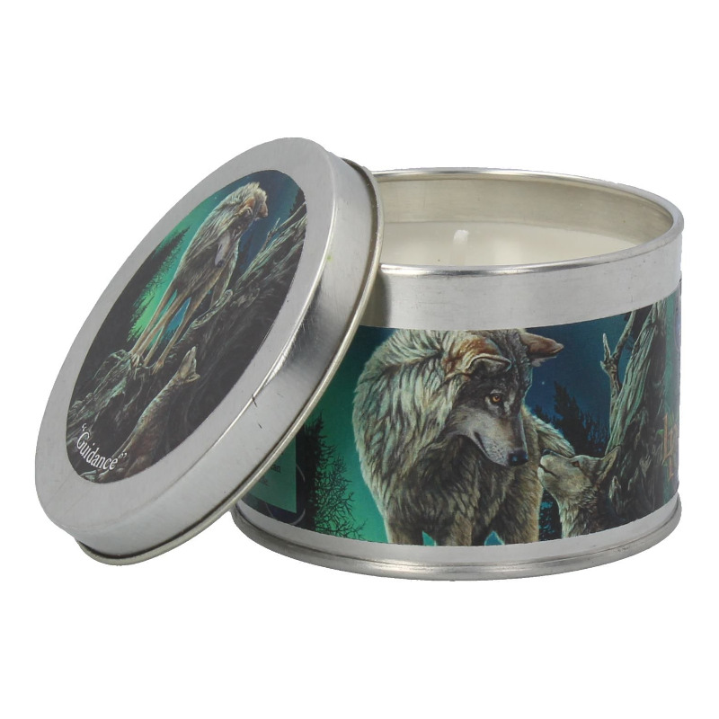 Guidance Tin Candle by Lisa Parker