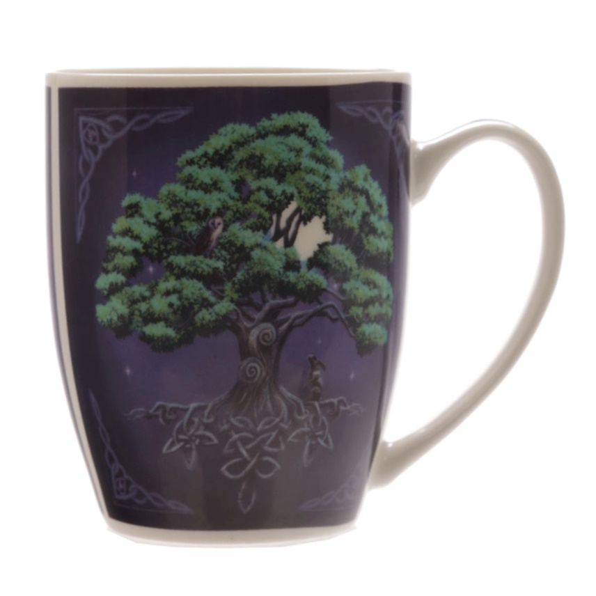 Tree of Life Mug by Lisa Parker