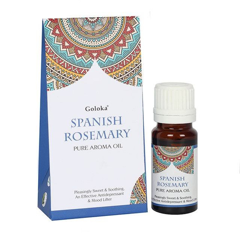 Goloka Aroma Oils Spanish Rosemary 10ml