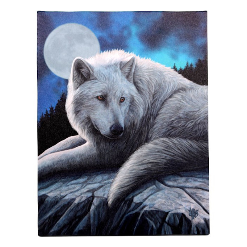 Guardian of the North Canvas by Lisa Parker