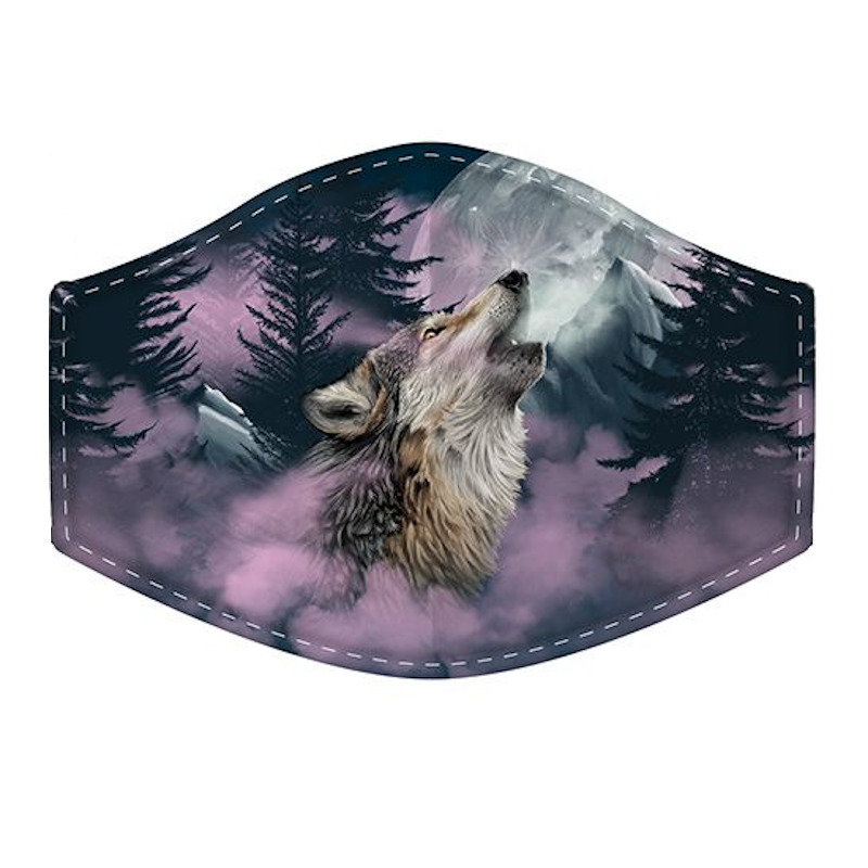 Wolf Reusable Face Covering