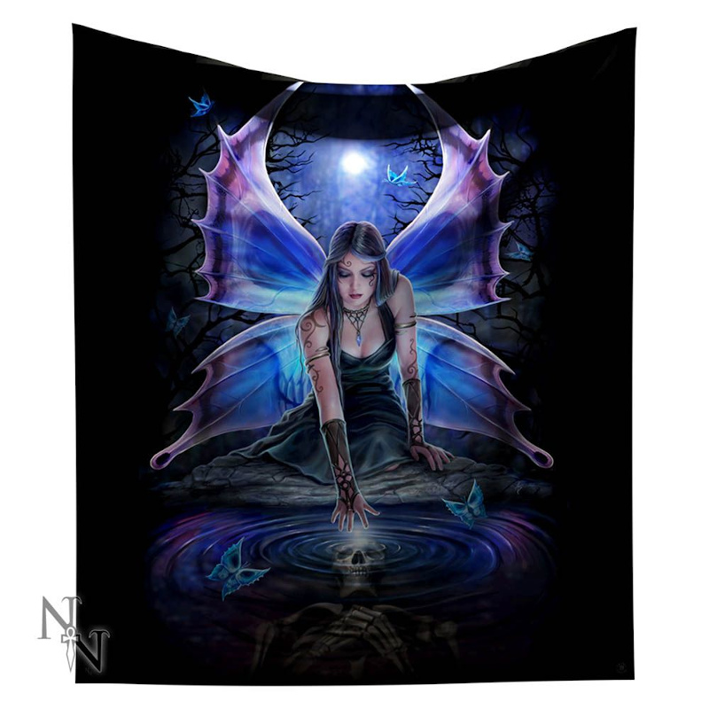 Immortal Flight Throw by Anne Stokes