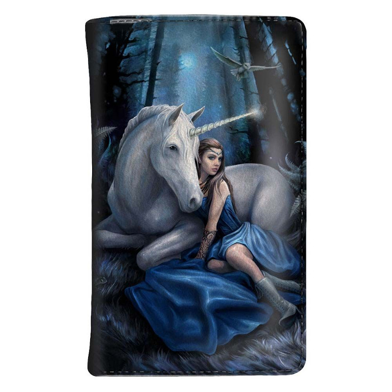 Blue Moon purse by Anne Stokes